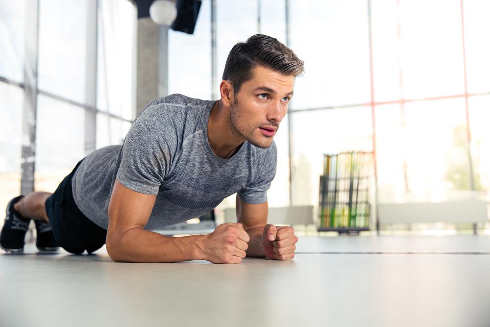 antrenament și erecție