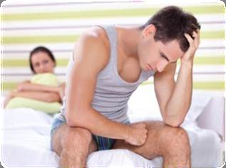 lipsa cauzei erecției