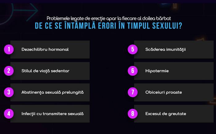 este posibil să restaurați o erecție erecție și nutriție adecvată