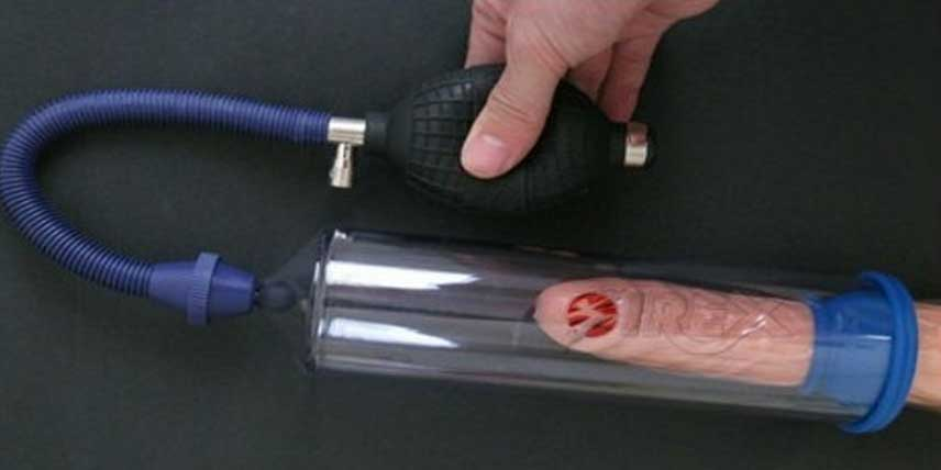 pompa pentru penisul lui