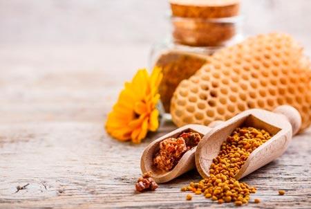 erecția polenului albinelor