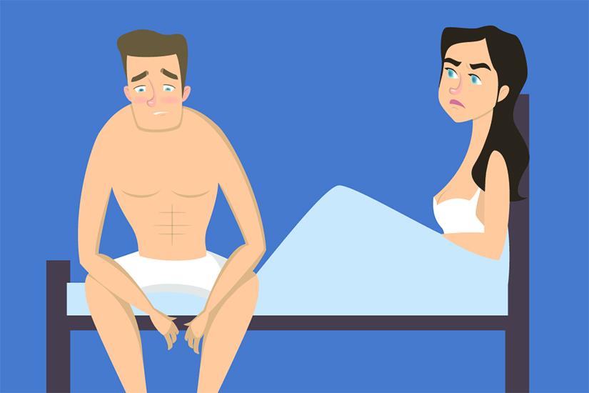Teste pentru probleme de erectie